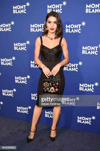 Camila Coelho attends Montblanc Celebrates Le Petit Prince at the One World Trade Center Observatory on April 4 2018 in New York City