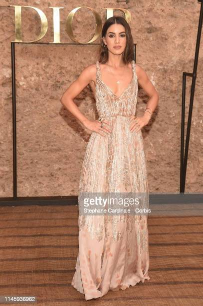 Camila Coelho attends the Christian Dior Couture S/S20 Cruise Collection on April 29 2019 in Marrakech Morocco