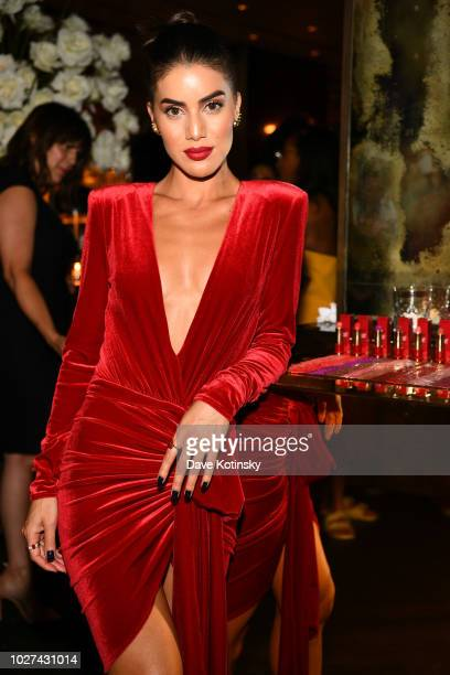 Camila Coelho attends the Lancome x Camila Coelho launch event on September 5 2018 in New York City