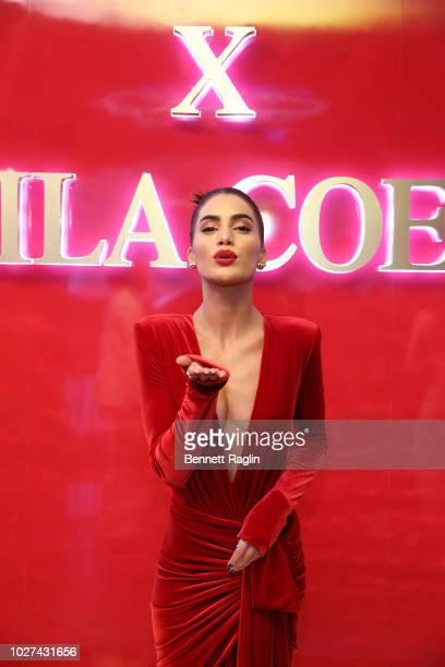 Camila Coelho attends the Lancome x Camila Coelho launch event on September 5 2018 in New York City