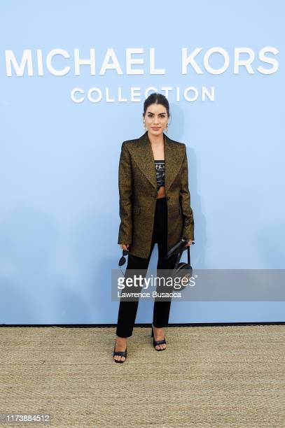 Camila Coelho attends the Michael Kors Collection Spring 2020 Runway Show on September 11 2019 in Brooklyn City