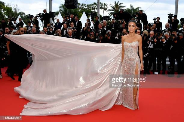 Camila Coelho attends the screening of A Hidden Life during the 72nd annual Cannes Film Festival on May 19 2019 in Cannes France