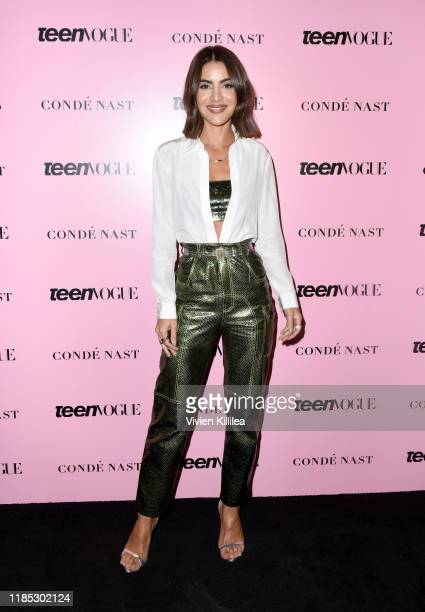 Camila Coelho attends the Teen Vogue Summit 2019 at Goya Studios on November 03, 2019 in Los Angeles, California.