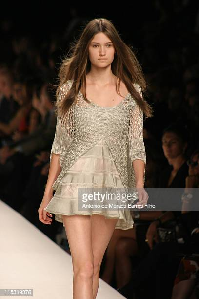 Camila Finn wearing Trends Les Copains Spring/Summer 2007