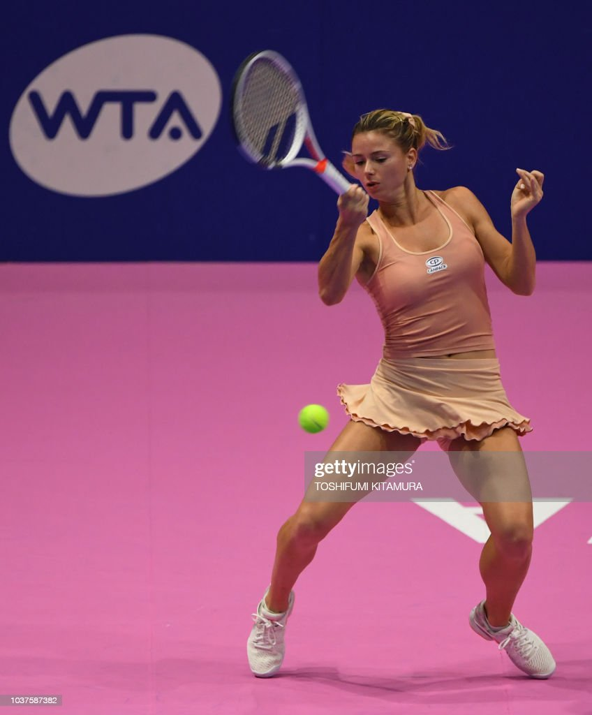 TENNIS-WTA-2018-JPN : News Photo