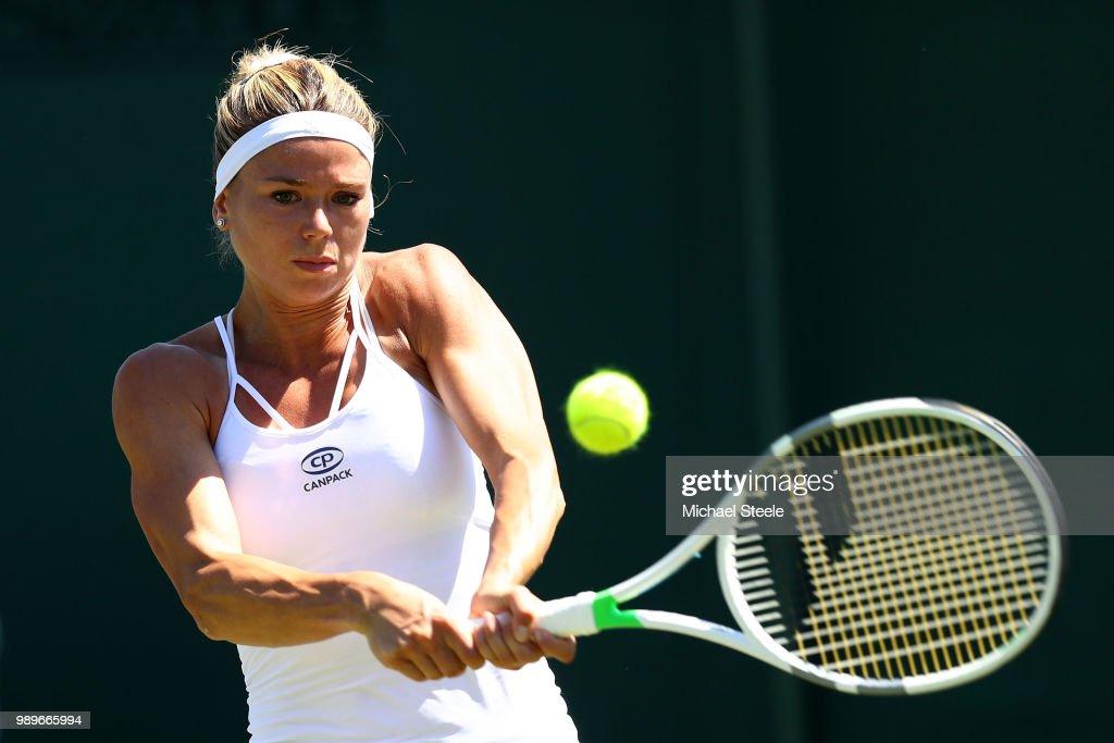 Day One: The Championships - Wimbledon 2018 : Foto di attualità