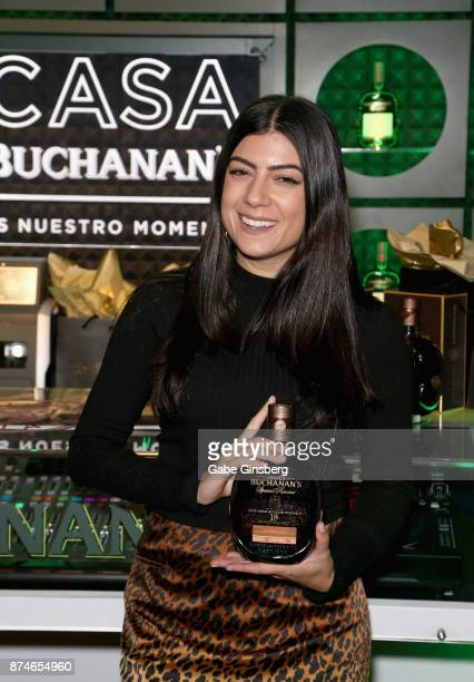 Camila Luna attends the gift lounge during the 18th annual Latin Grammy Awards at MGM Grand Garden Arena on November 15 2017 in Las Vegas Nevada
