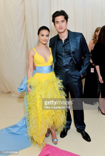 Camila Mendes and Charles Melton attend The 2019 Met Gala Celebrating Camp Notes on Fashion at Metropolitan Museum of Art on May 06 2019 in New York...