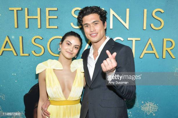 Camila Mendes and Charles Melton attend the world premiere of Warner Bros The Sun Is Also A Star at Pacific Theaters at the Grove on May 13 2019 in...