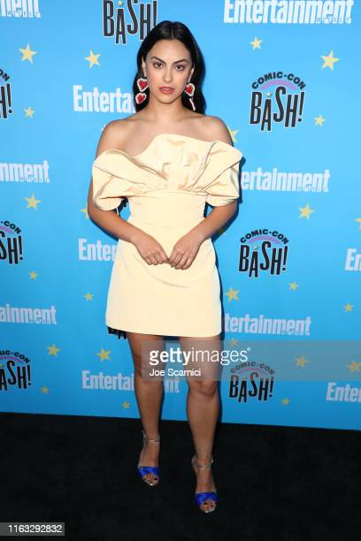 Camila Mendes arrives at the Entertainment Weekly ComicCon Celebration at Float at Hard Rock Hotel San Diego on July 20 2019 in San Diego California