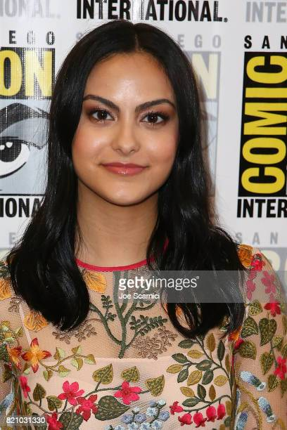 Camila Mendes arrives at the 'Riverdale' press line at ComicCon International 2017 on July 22 2017 in San Diego California