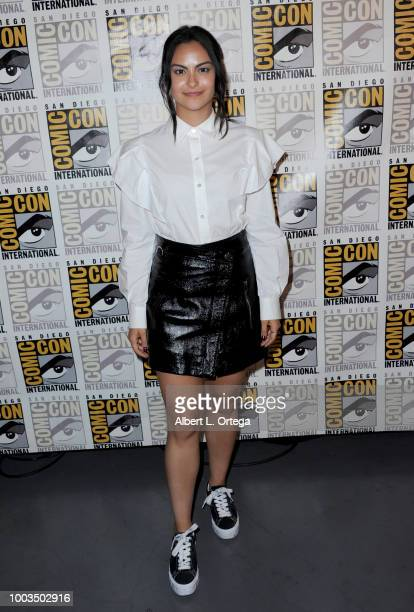 Camila Mendes attends Entertainment Weekly's Women Who Kick Ass Panel during ComicCon International 2018 at San Diego Convention Center on July 21...