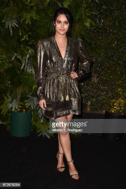 Camila Mendes attends Max Mara Women In Film Face of the Future at Chateau Marmont on June 12 2018 in Los Angeles California