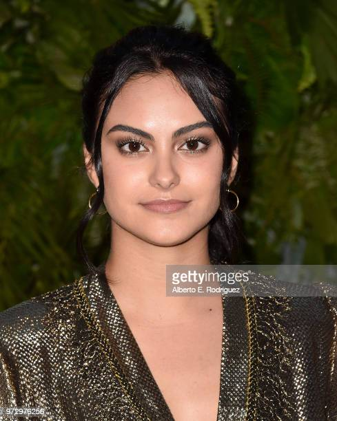 Camila Mendes attends Max Mara Women In Film Face of the Future at Chateau Marmont on June 12, 2018 in Los Angeles, California.