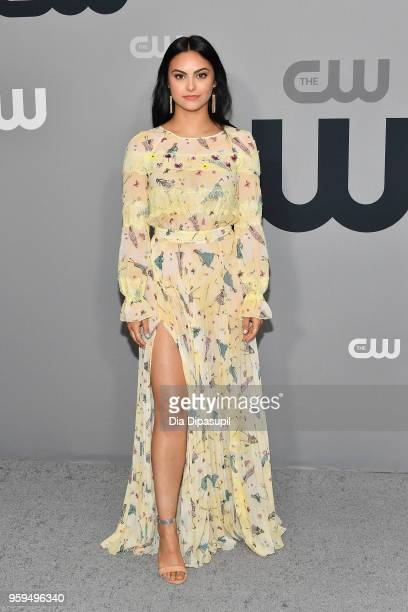 Camila Mendes attends the 2018 CW Network Upfront at The London Hotel on May 17 2018 in New York City