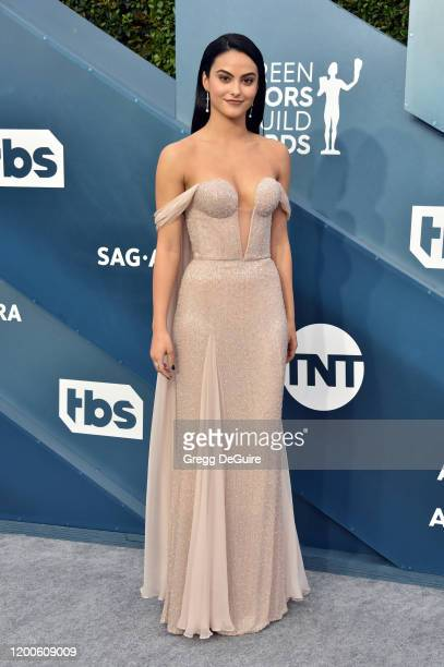 Camila Mendes attends the 26th Annual Screen Actors Guild Awards at The Shrine Auditorium on January 19 2020 in Los Angeles California 721430