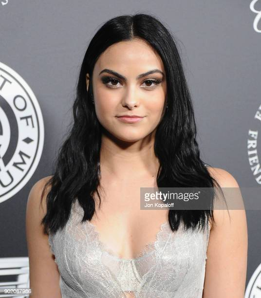 Camila Mendes attends The Art Of Elysium's 11th Annual Celebration Heaven at Barker Hangar on January 6 2018 in Santa Monica California