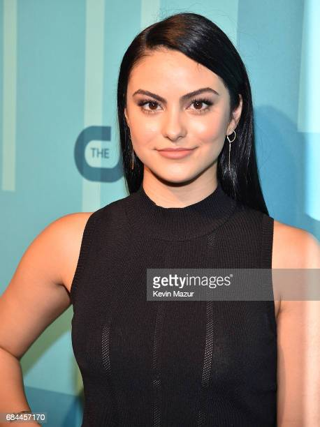 Camila Mendes attends The CW Network's 2017 Upfront at The London Hotel on May 18 2017 in New York City