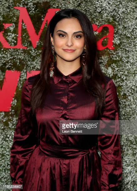 Camila Mendes attends the InStyle Max Mara Women In Film Celebration at Chateau Marmont on June 11 2019 in Los Angeles California