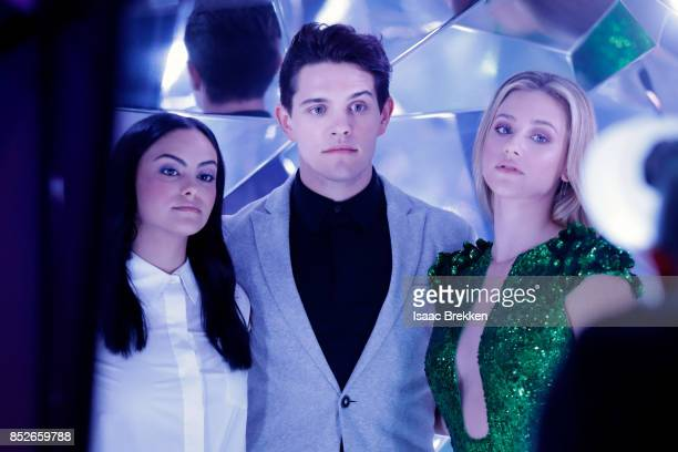 Camila Mendes Casey Cott and Lili Reinhart attend the 2017 iHeartRadio Music Festival at TMobile Arena on September 23 2017 in Las Vegas Nevada