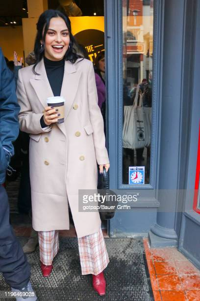 Camila Mendes is seen on January 25 2020 in Park City Utah