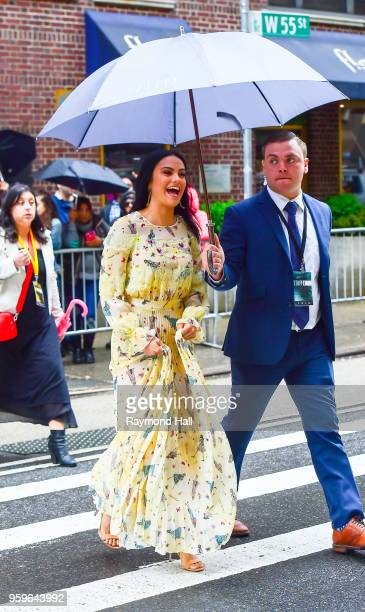 Camila Mendes is seen walking in midtown on May 17 2018 in New York City