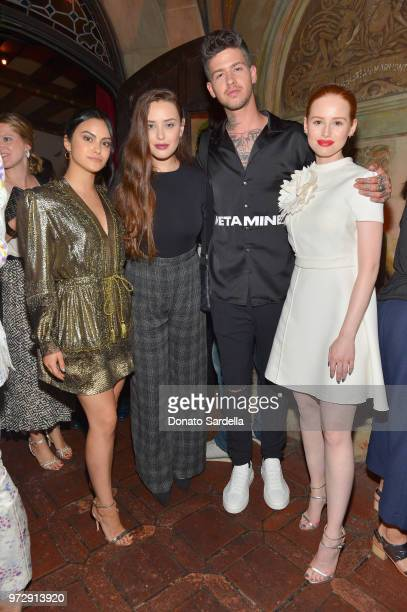Camila Mendes Katherine Langford Travis Mills and Madelaine Petsch attend the Max Mara Celebration for Alexandra Shipp 2018 Women In Film Max Mara...