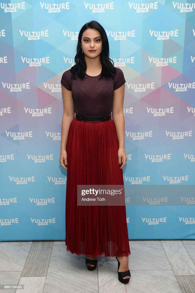 Camila Mendes of Riverdale series attends the Vulture Festival at The Standard High Line on May 20, 2017 in New York City.