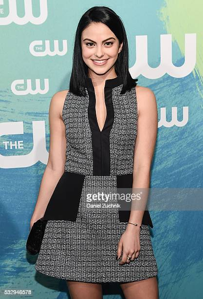 Camila Mendes of the series 'Riverdale' attends The CW Network's 2016 New York Upfront at The London Hotel on May 19 2016 in New York City