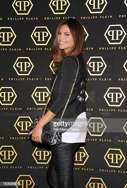 Camila Morais attends the Philipp Plein Spring Summer 2013 fashion show as  part of Milan 6ef6a5b1cf4