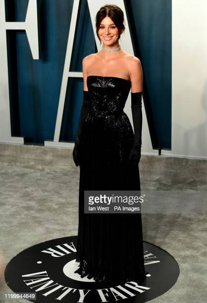 Camila Morone attending the Vanity Fair Oscar Party held at the Wallis Annenberg Center for the Performing Arts in Beverly Hills, Los Angeles,...