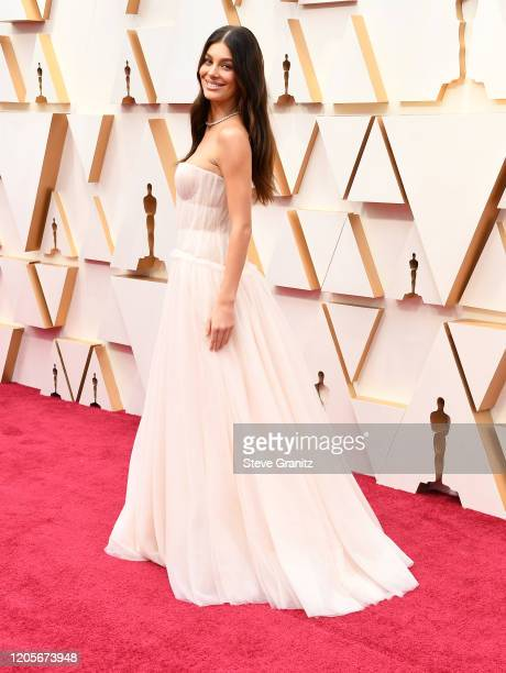 Camila Morrone arrives at the 92nd Annual Academy Awards at Hollywood and Highland on February 09, 2020 in Hollywood, California.