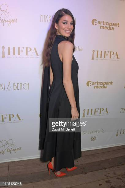 Camila Morrone at Nikki Beach for the HFPA Participant Media event honoring Help Refugees on May 19 2019 in Cannes France