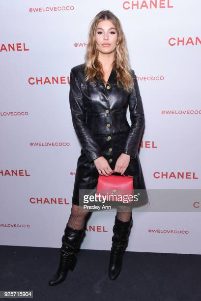Camila Morrone attends Chanel Party to Celebrate the Chanel Beauty House and @WELOVECOCO on February 28 2018 in Los Angeles California