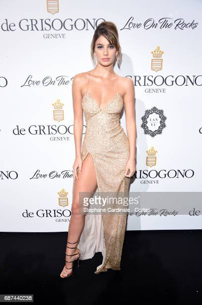 Camila Morrone attends DeGrisogono Love On The Rocks during the 70th annual Cannes Film Festival at Hotel du CapEdenRoc on May 23 2017 in Cap...