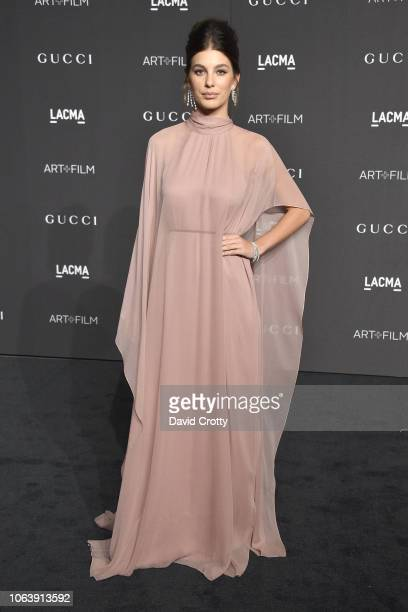 Camila Morrone attends LACMA Art Film Gala 2018 at Los Angeles County Museum of Art on November 3 2018 in Los Angeles CA