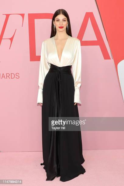 Camila Morrone attends the 2019 CFDA Awards at The Brooklyn Museum on June 3 2019 in New York City