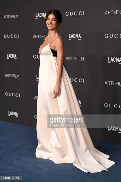 Camila Morrone attends the 2019 LACMA 2019 Art + Film Gala Presented By Gucci at LACMA on November 02, 2019 in Los Angeles, California.