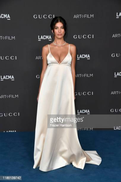 Camila Morrone attends the 2019 LACMA 2019 Art Film Gala Presented By Gucci at LACMA on November 02 2019 in Los Angeles California