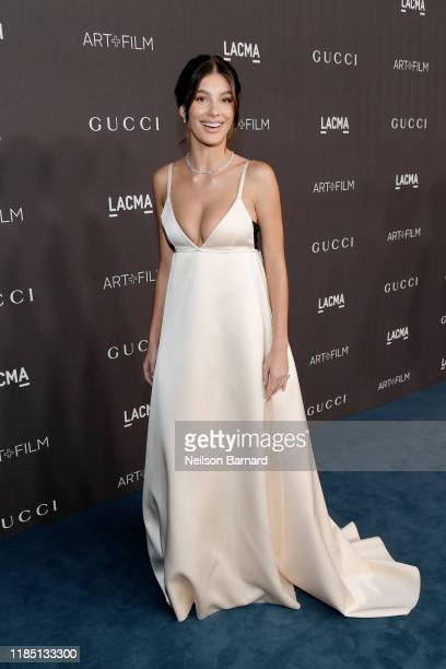 Camila Morrone attends the 2019 LACMA Art Film Gala Presented By Gucci at LACMA on November 02 2019 in Los Angeles California