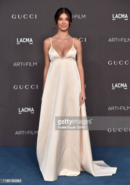 Camila Morrone attends the 2019 LACMA Art Film Gala Presented By Gucci on November 02 2019 in Los Angeles California