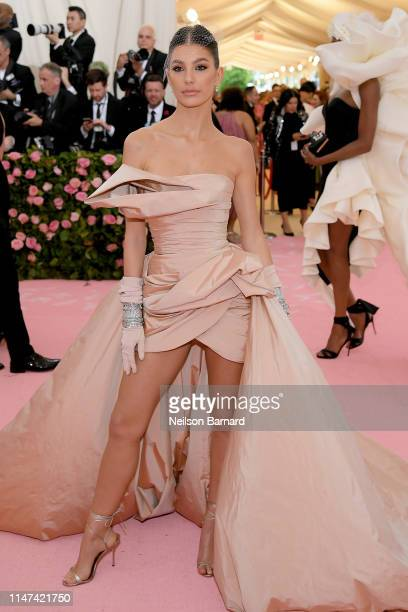 Camila Morrone attends The 2019 Met Gala Celebrating Camp Notes on Fashion at Metropolitan Museum of Art on May 06 2019 in New York City