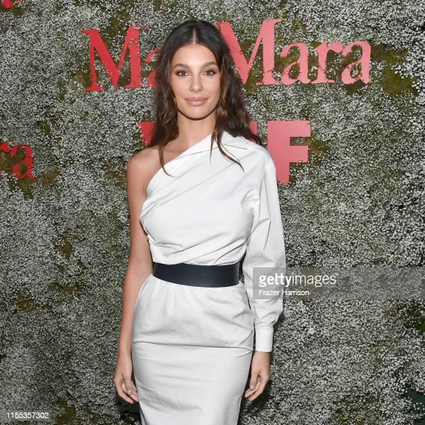 Camila Morrone attends the 2019 Women In Film Max Mara Face Of The Future celebrating Elizabeth Debicki at Chateau Marmont on June 11 2019 in Los...