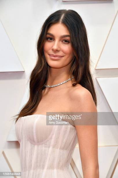 Camila Morrone attends the 92nd Annual Academy Awards at Hollywood and Highland on February 09 2020 in Hollywood California