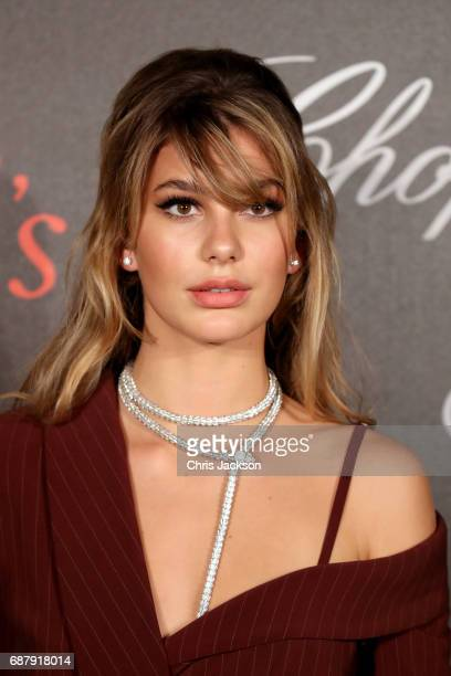 Camila Morrone attends the Annabel's Chopard Party during the 70th annual Cannes Film Festival at Martinez Hotel on May 24 2017 in Cannes France