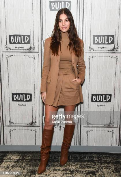 """Camila Morrone attends the Build Series to discuss the new film """"Mickey and the Bear"""" at Build Studio on November 12, 2019 in New York City."""
