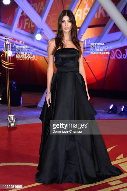 Camila Morrone attends the closing ceremony during the 18th Marrakech International Film Festival on December 07 2019 in Marrakech Morocco