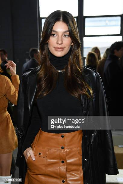 Camila Morrone attends the Coach 1941 fashion show during February 2020 - New York Fashion Week on February 11, 2020 in New York City.