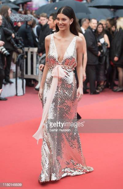 Camila Morrone attends the screening of Les Plus Belles Annees D'Une Vie during the 72nd annual Cannes Film Festival on May 18 2019 in Cannes France