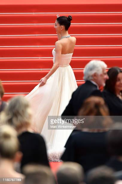 Camila Morrone attends the screening of Once Upon A Time In Hollywood during the 72nd annual Cannes Film Festival on May 21 2019 in Cannes France